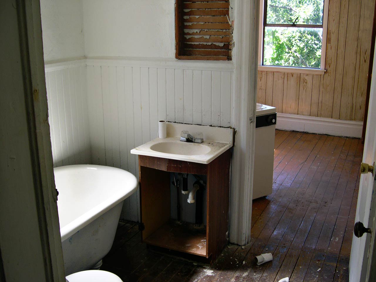 Clark Watson Home Remodel - Bathroom Before