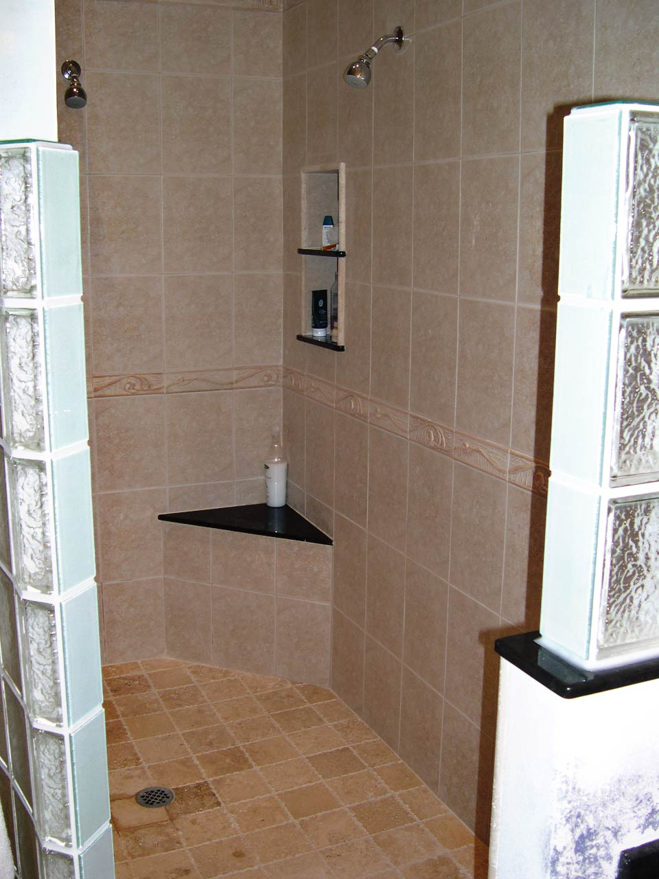 Bathroom Remodel - Tiled Shower