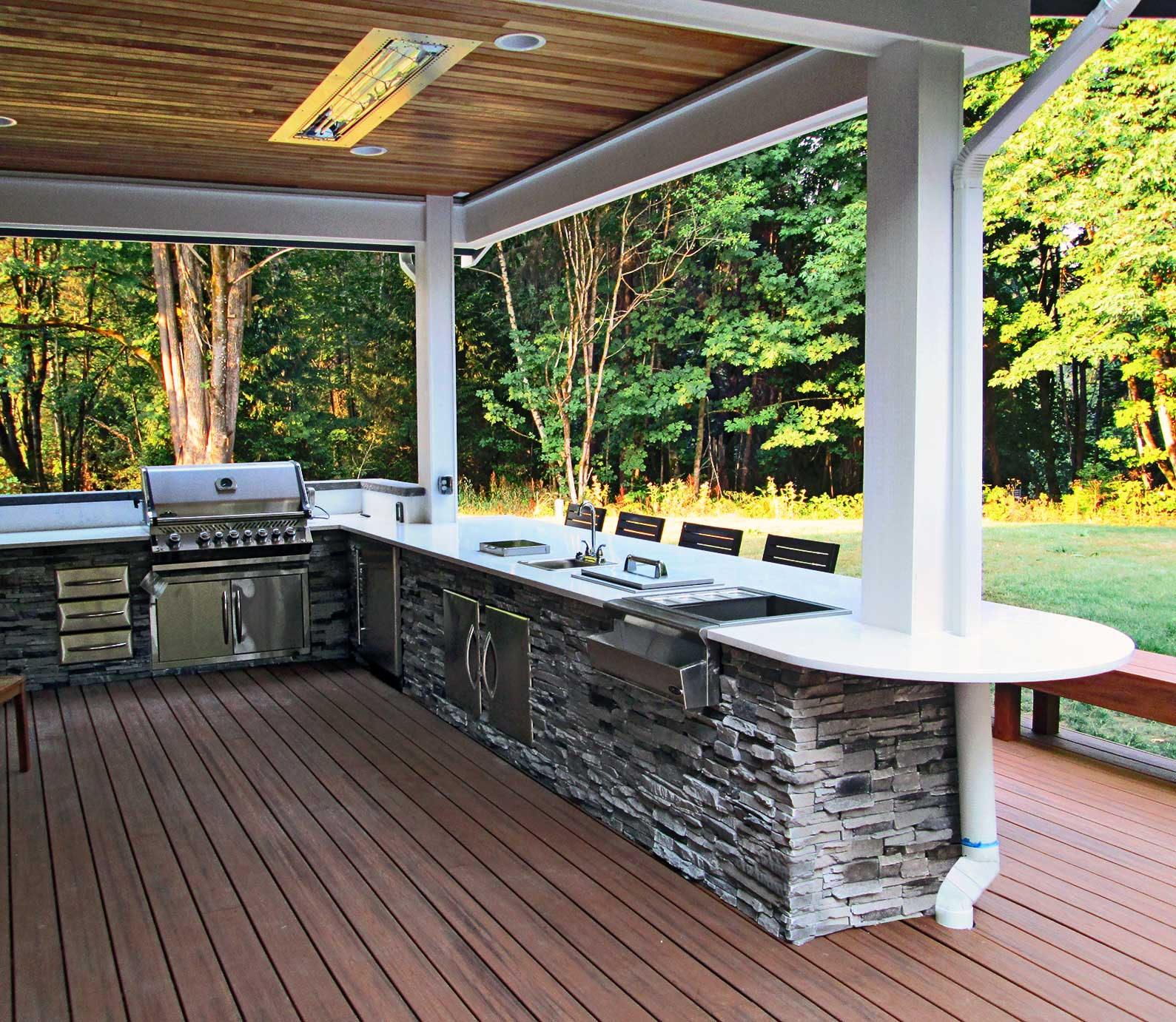 Open Back Porch Ideas Decks