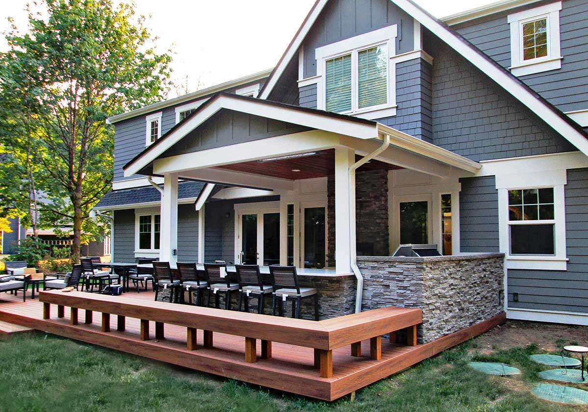 Gerber Residence Back Patio Remodel - Classic Remodeling ... on Backyard Renovations Cost id=44683